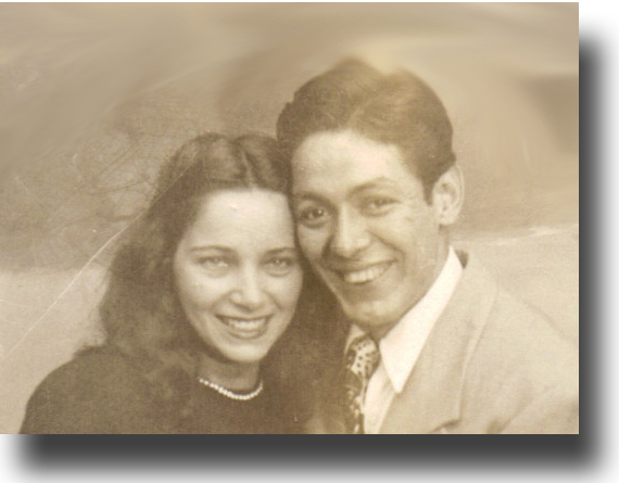 Mary M. Fraijo and Ernest Fraijo 1945